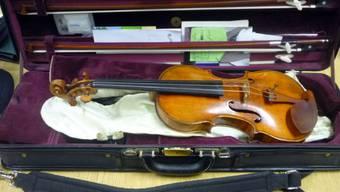 Keine Geige, sondern ein Gewehr transportierte er im Geigenkasten