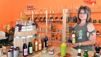 Die fehlende Erfahrung im Verkauf hat Andrea Näf nicht davon abgehalten, einen eigenen Laden zu eröffnen – und zu ihrer Zufriedenheit zu führen.Bruno Kissling