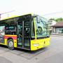 Wie hier in Bottmingen würde Landrätin Sara Fritz gerne in Muttenz Bahnhof den Bus besteigen und nach Birsfelden fahren. (Archivbild)