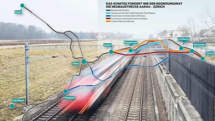 Der Aargau soll nicht zwischen den Metropolen aufgerieben werden.