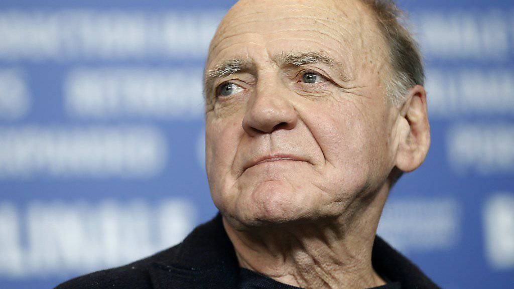 Bruno Ganz (75) erhält für sein Gesamtwerk den Ehrenpreis des Schweizer Filmpreises. (Archivbild)
