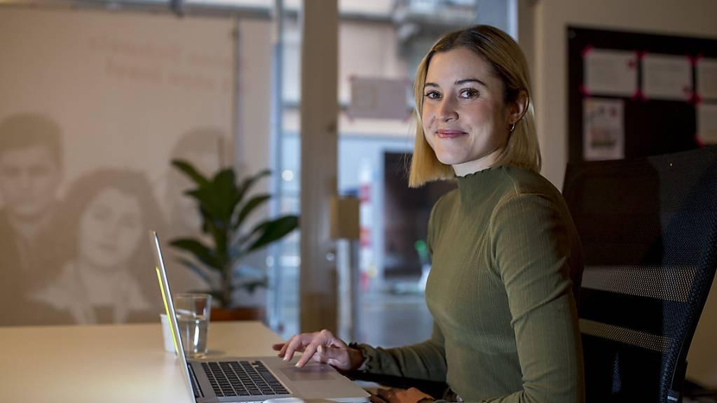 Nach fünf Jahren ist Schluss: Laura Zimmermann gibt ihr Amt als Co-Präsidentin von Operation Libero ab. (Archivbild)