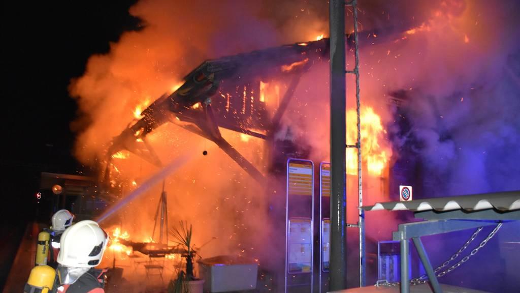 Bahnhofsbrand: 29-Jähriger wegen mutmasslicher Brandstiftung in U-Haft