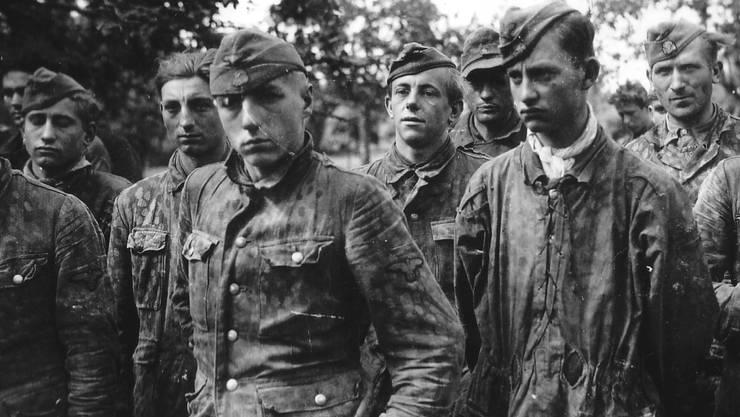 Für manchen, der sich der Nazi-Ideologie anschloss und für Deutschland in den Krieg zog, endete dieses «Abenteuer» in der Kriegsgefangenschaft.