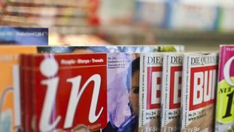 Immer weniger gefragt: Zeitschriften vom Kiosk