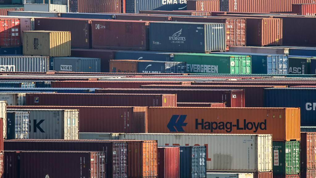 Schweizer Exporte brechen im April wegen Corona ein. (Archiv)