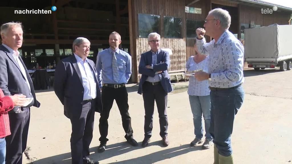 Bauern stellen sich gegen AP22+ und Guy Parmelin