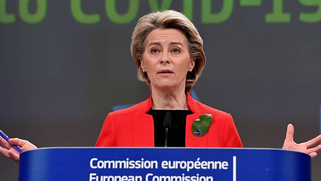 Impfstoff-Mangel: EU-Kommission will schärfere Exportkontrolle