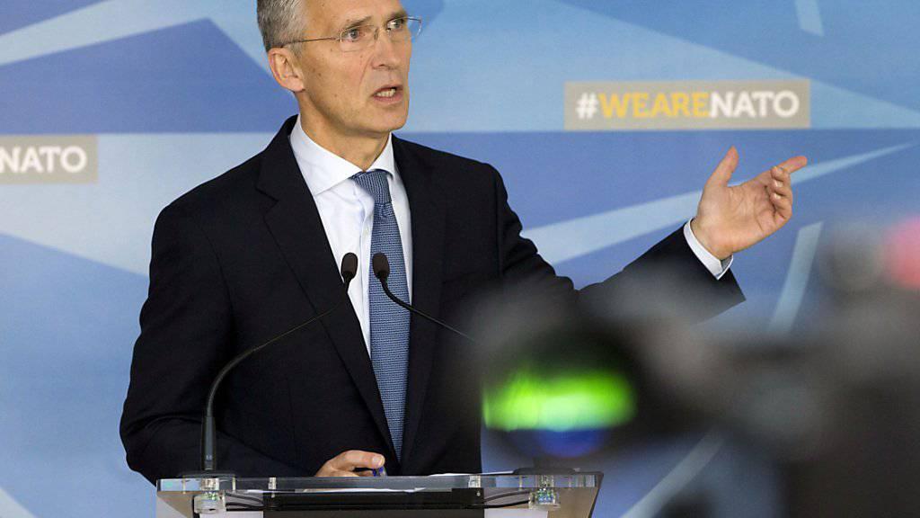 NATO-Generalsekretär Stoltenberg ist überzeugt, dass Russland bei den Grössenangaben zur Übung «Sapad» deutlich untertrieben habe, um Kontrollen zu vermeiden.