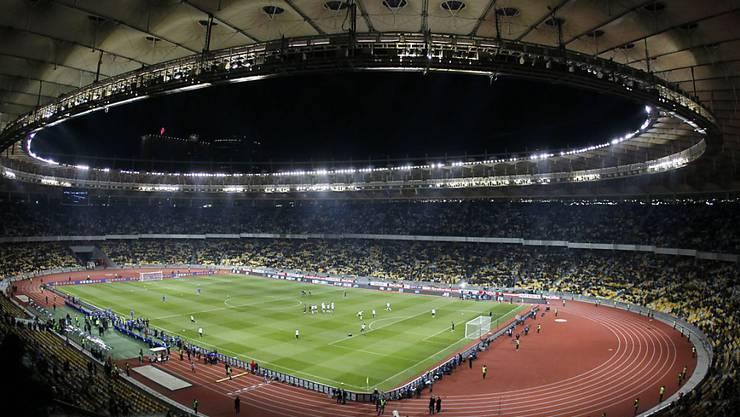 Im Olympiastadion in Kiew fand am 1. Juli 2012 der EM-Final zwischen Spanien und Italien (4:0) statt