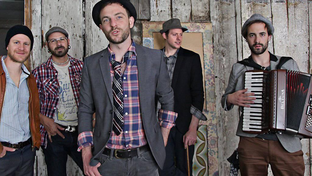 Neu ist nur seine Band: Markus Sollberger (ehemals Männer am Meer) ist seit kurzem mit seiner Band Troubas Kater erfolgreich (Pressebild).