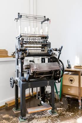 Traditionelle Fadenbindenmaschine