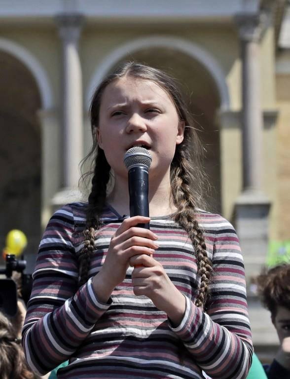 Greta Thunberg (© Keystone)