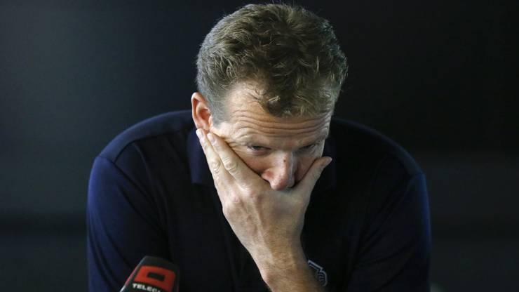 Kevin Schläpfer kamen an der Pressekonferenz zum Nati-Trainerjob Tränen, nachdem er das Angebot ablehnte.