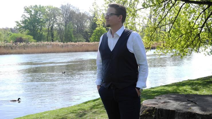 Mag seinen Beruf: Philipp Erne organisiert als Zeremonienmeister Hochzeiten, Baby-Feiern und Abschiede.