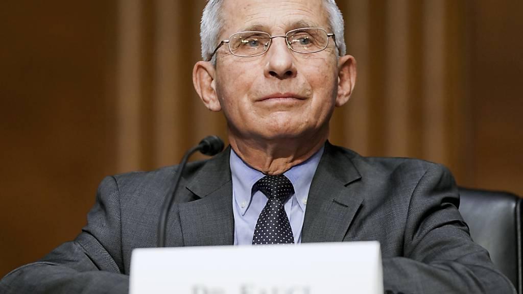 Anthony Fauci ist Direktor des Nationalen Instituts für Allergien und Infektionskrankheiten der USA. Foto: Jim Lo Scalzo/Pool EPA/AP/dpa