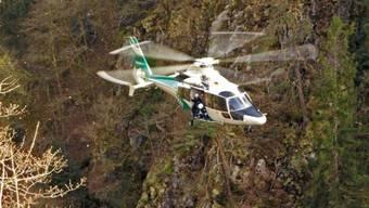Toter im Albtal: Bergretter an 90-Meter-Felswand stark gefordert