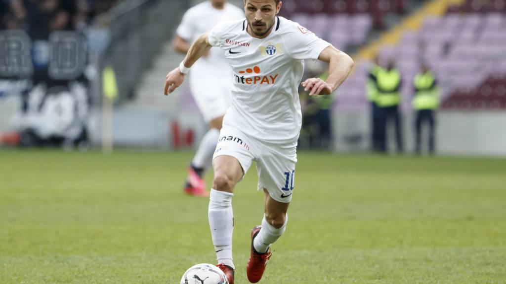 Antonio Marchesano fehlte vor einer Woche dem FCZ bei der Partie in Neuenburg