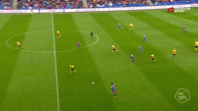 Super League, 2017/18, 34. Runde, FC Basel - BSC Young Boys, 2:0 Albian Ajeti