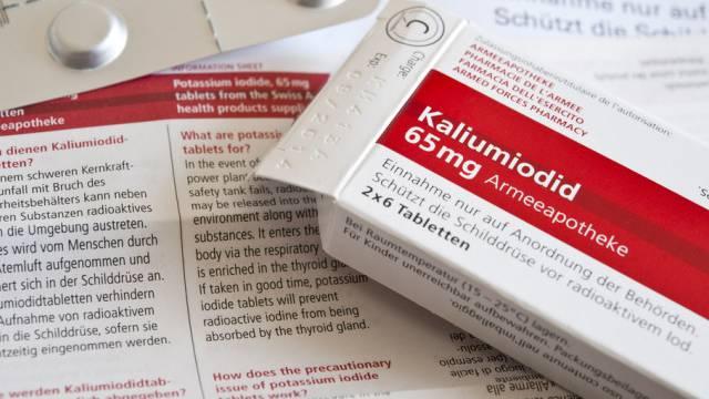 Pillen verhindern Aufnahme von radioaktivem Jod in die Schilddrüse