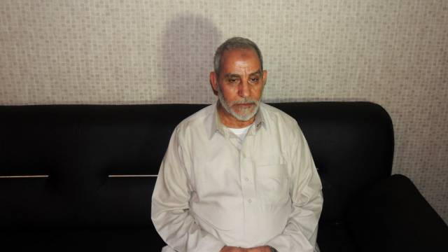 Mohammed Badie kurz nach seiner Festnahme 2013 (Archiv)