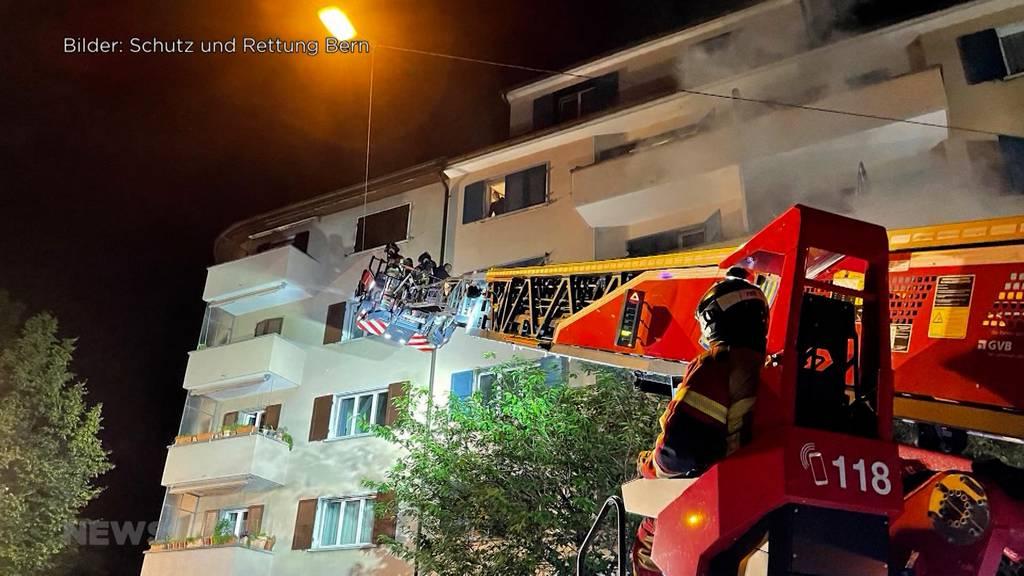 Brand im Breitenrain-Quartier: Mehrere Wohnungen unbewohnbar
