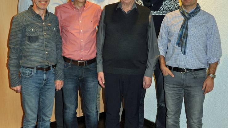 Der aktuelle Vorstand vom Männerturnverein 2019