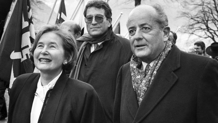 Elisabeth Kopp war die erste Bundesrätin der Schweiz – Anschuldigungen gegen ihren Ehemann beendeten ihre Karriere vorzeitig