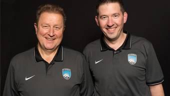 Die Co-Präsidenten Ueli Bucher und Mike Barth