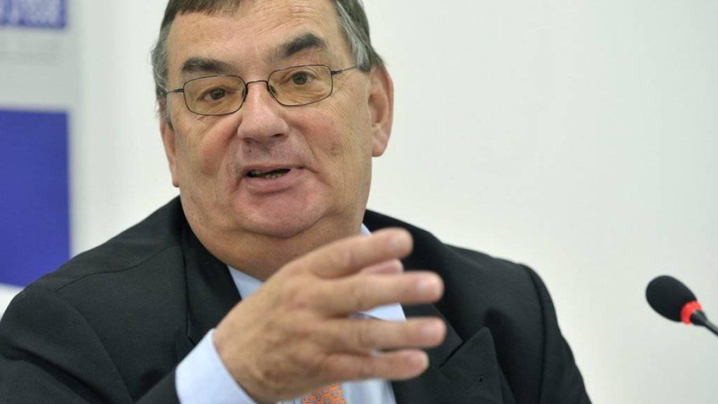 Luzius Wasescha prägte die Handelspolitik der Schweiz in den letzten Jahrzehnten massgeblich mit. (Archivbild)