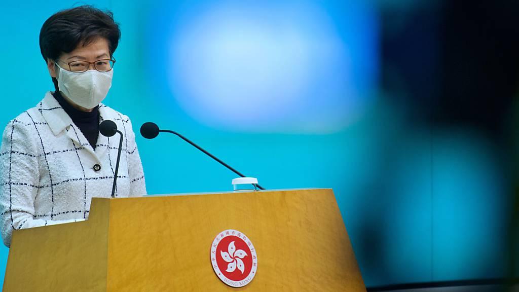 China verschärft Wahlgesetz in Hongkong