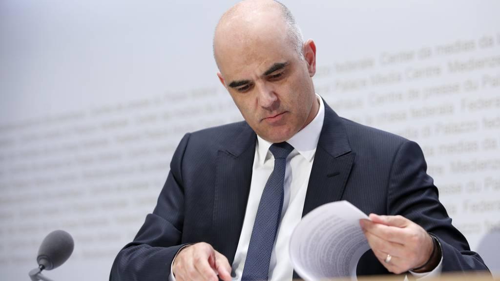 Alain Berset ernennt neuen persönlichen Mitarbeiter für Bereich Gesundheit