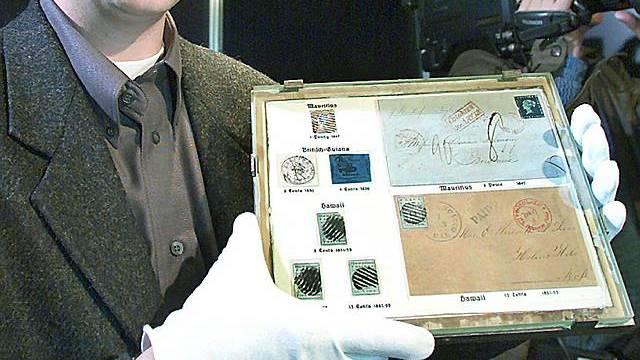 Briefmarke in Essen versteigert