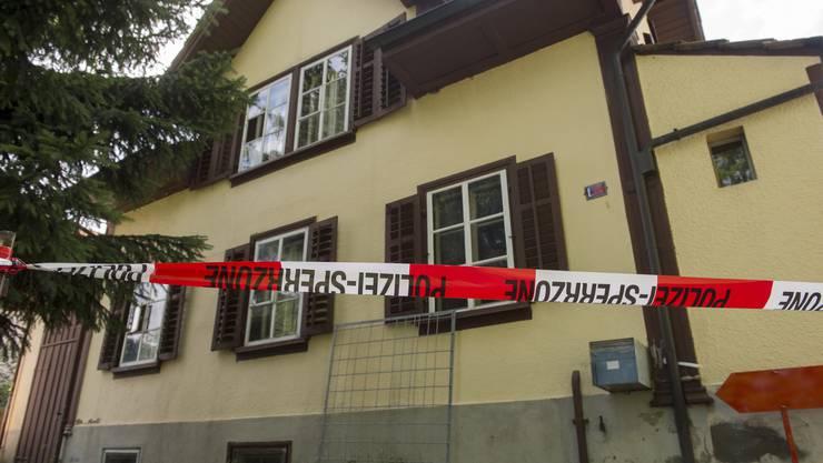 Der Tatort des Familiendramas in Sarmenstorf