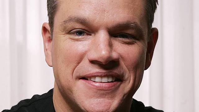 Matt Damon hat bei Pizza und Bier kräftig zugeschlagen (Archiv)