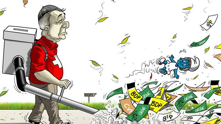 Bundesratswahlen: Der Rechtsrutsch verringert Widmer-Schlumpfs Wahlchancen