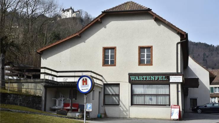 Das Restaurant Wartenfels steht zum Verkauf. Die Familie des Wirts André Wyss betrieb das Lokal über 100 Jahre lang.