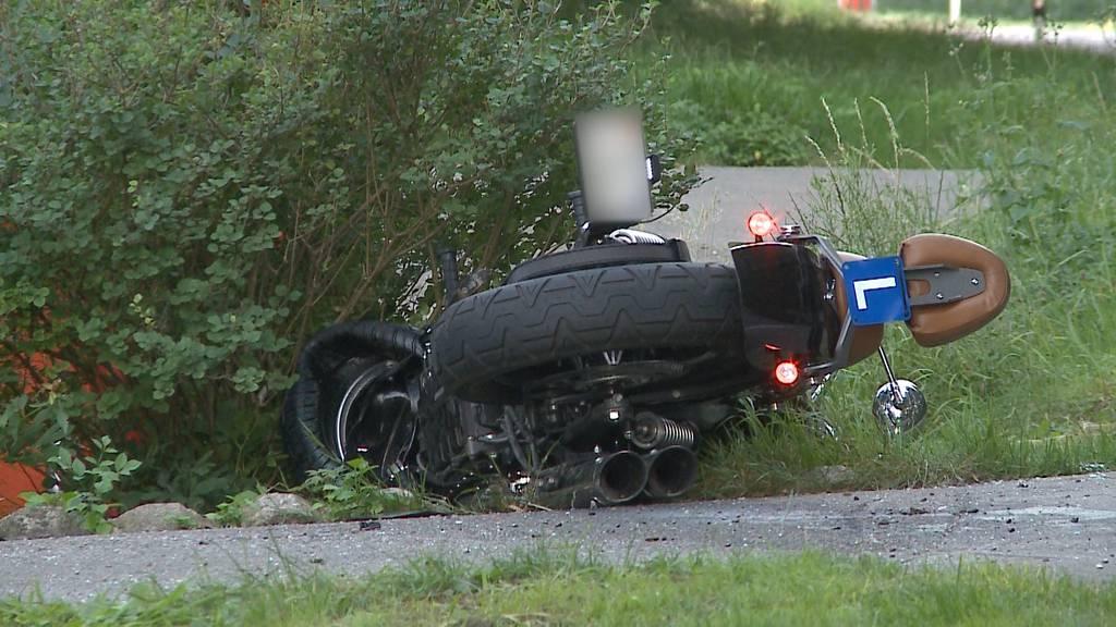 Unfall in Dottikon: Töff-Lernfahrer stirbt wegen Neulenker
