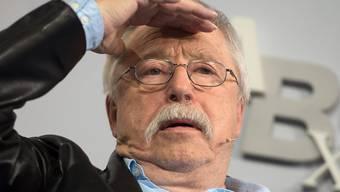 Preisträger Wolf Biermann. (Aufnahme vom Oktober 2016 an der Frankfurter Buchmesse)