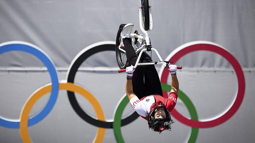 Nikita Ducarroz fliegt mit dem BMX zu Bronze
