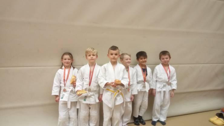 Judokas -30kg