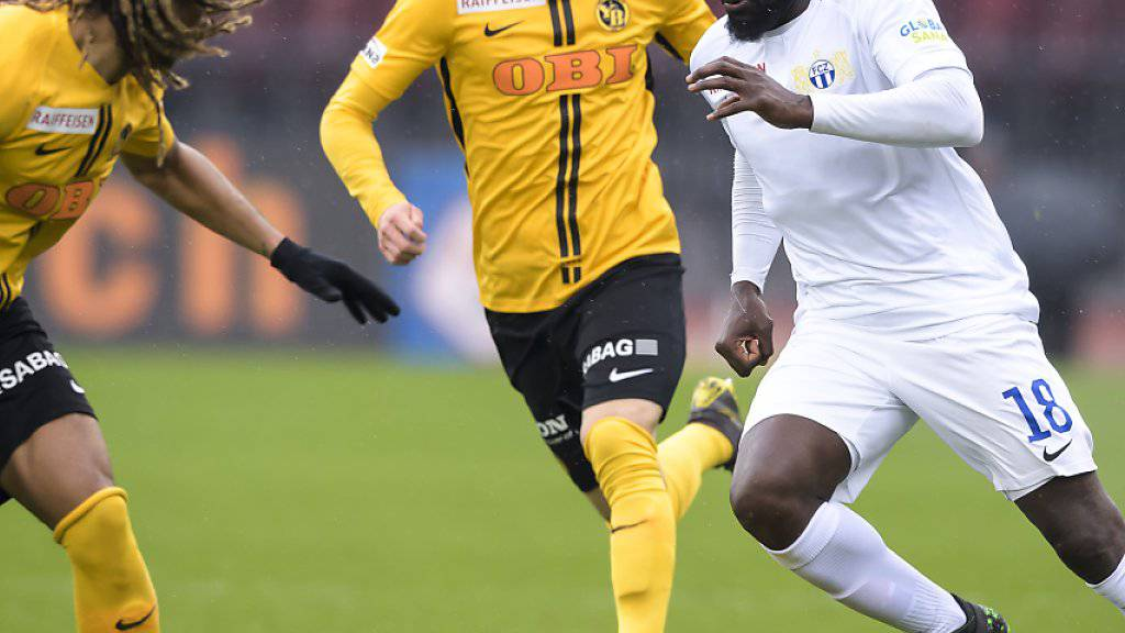 Christian Fassnacht (Mitte) fehlt den Young Boys beim Start in die neue Super-League-Saison