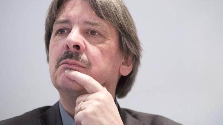 Paul Rechsteiner steht seit fast 20 Jahren an der Spitze des Schweizerischen Gewerkschaftsbundes SGB. (Archivbild)