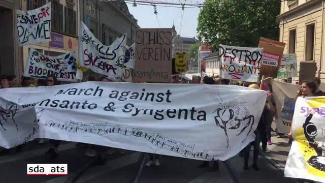 Demo für grüne und soziale Landwirtschaft und gegen Agrokonzerne