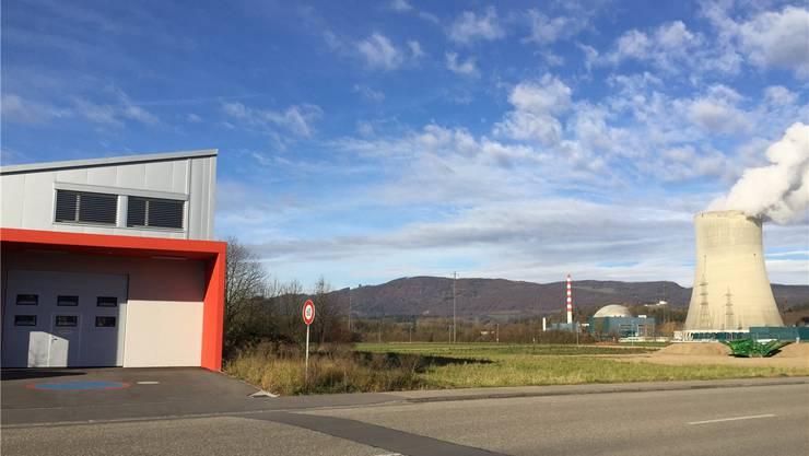 Die M. Coray Schreinerei AG wird sich im Aarenfeld neben dem Geschäftshaus der Firma AMS-TEC GmbH befinden.