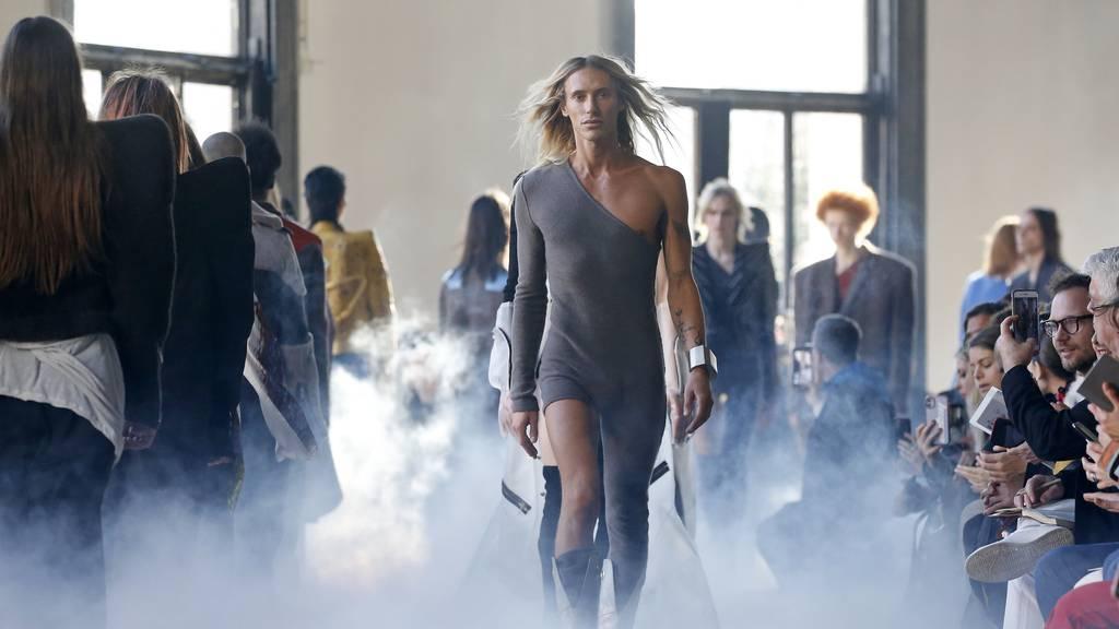 Männermode an der Fashion Week in Paris