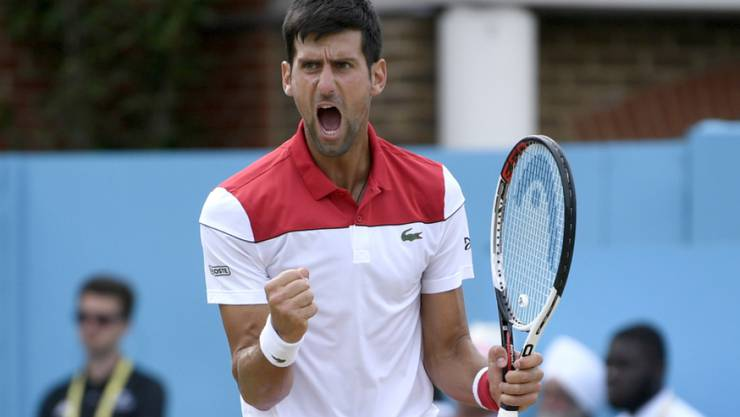 Novak Djokovic hat allen Grund zur Freude