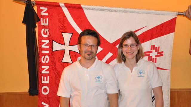 Die neuen Ehrenmitglieder Daniel Baumgartner und Regula Sesseli-Baumgartner