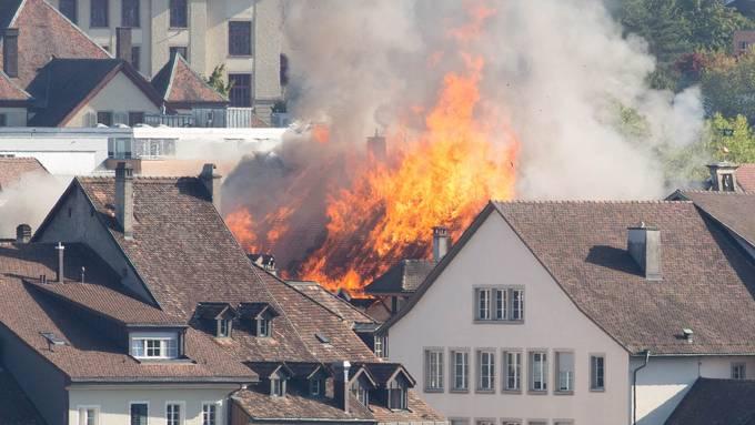 Brand aus Sicht von Rombach