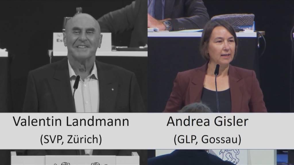 Eklat im Kantonsrat: Valentin Landmann leistet sich schlüpfrigen Ausrutscher